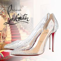 Christian Louboutin PVC Clothing With Jewels High Heel Pumps & Mules