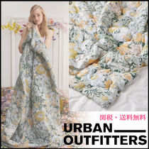 Urban Outfitters Unisex Blended Fabrics Plain Throws