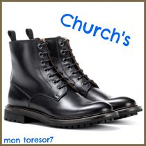 Church's Casual Style Plain Leather Elegant Style