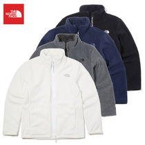 THE NORTH FACE Short Casual Style Unisex Street Style Plain Shearling Logo