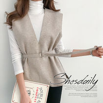 Plain Medium Office Style Vests