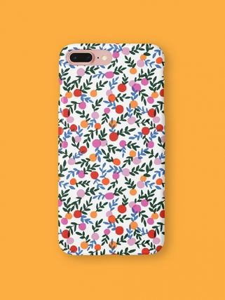dropdropdrop Flower Patterns iPhone 8 iPhone 8 Plus iPhone X iPhone XS