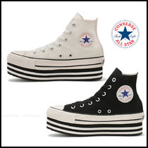 CONVERSE ALL STAR Casual Style Street Style Plain Logo Low-Top Sneakers