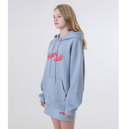 Sweat Street Style Long Sleeves Medium Oversized Logo
