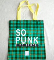 LE BON MARCHE Other Plaid Patterns Unisex A4 Totes