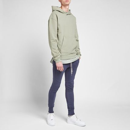 Pullovers Street Style Collaboration Long Sleeves Plain