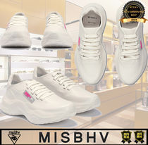 MISBHV Casual Style Plain Low-Top Sneakers