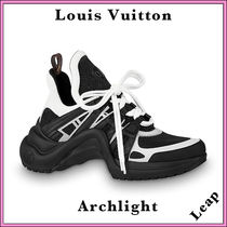 Louis Vuitton Casual Style Street Style Plain Low-Top Sneakers