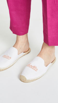 Casual Style Blended Fabrics Street Style Plain Slippers