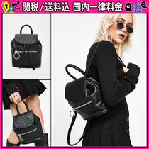DOLLS KILL Casual Style Plain Leather Backpacks
