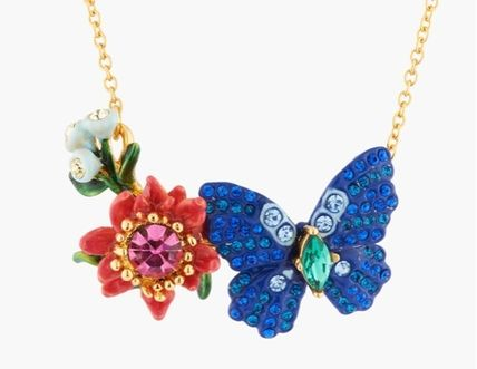 Animal Flower Brass Necklaces & Pendants