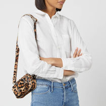 NUNOO Leopard Patterns Casual Style Fur Leather Shoulder Bags
