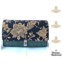 Vivienne Westwood Blended Fabrics Leather Party Style Elegant Style Bags