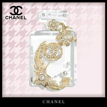 CHANEL Costume Jewelry Unisex Blended Fabrics Party Style