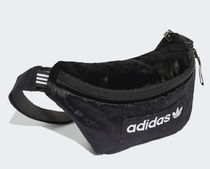 adidas Casual Style Unisex Suede Street Style 2WAY Plain Crossbody