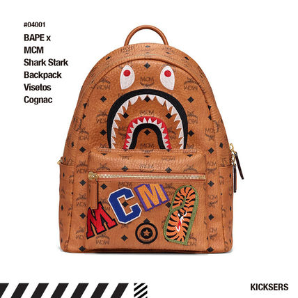 Monogram Unisex Canvas Street Style Collaboration A4