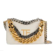 TOM FORD Casual Style Street Style Chain Shoulder Bags