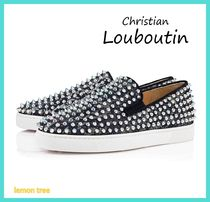 Christian Louboutin ROLLER BOAT Studded Sneakers