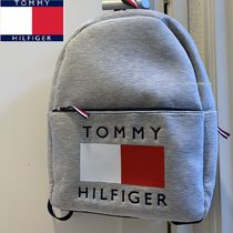 Tommy Hilfiger Casual Style A4 Plain Backpacks