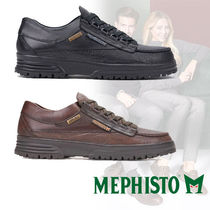 MEPHISTO Street Style Plain Leather Sneakers
