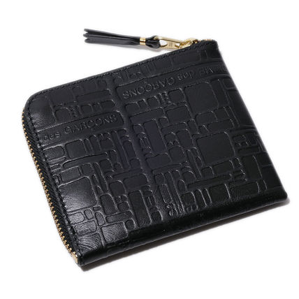 Monogram Leather Long Wallet  Coin Cases