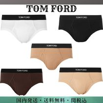 TOM FORD Plain Cotton Logo Briefs