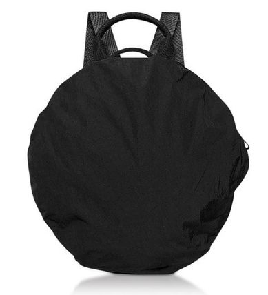 Nylon 2WAY Plain Backpacks
