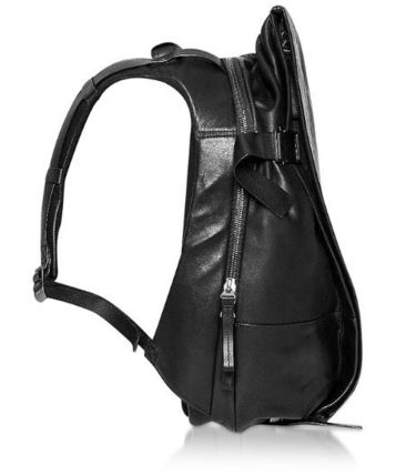 2WAY Plain Leather Backpacks