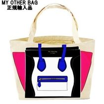 My Other Bag Unisex Canvas Street Style A4 Shoppers