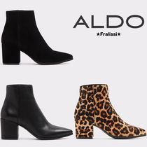 ALDO Leopard Patterns Casual Style Blended Fabrics Plain