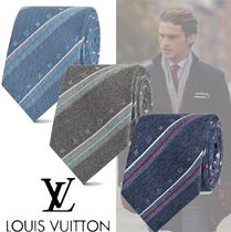 Louis Vuitton Silk Cotton Ties