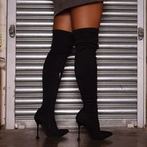 SIMMI Suede Over-the-Knee Boots