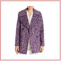 kate spade new york Leopard Patterns Casual Style Elegant Style Peacoats