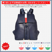 Tommy Hilfiger Casual Style Plain Backpacks
