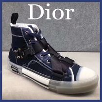 Christian Dior DIOR OBLIQUE Street Style Sneakers