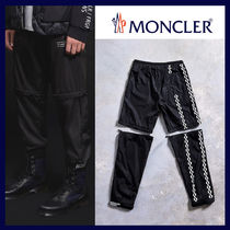 MONCLER MONCLER GENIUS Tapered Pants Gingham Other Check Patterns Unisex Nylon