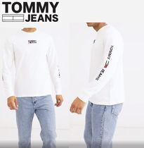 Tommy Hilfiger Street Style Plain T-Shirts