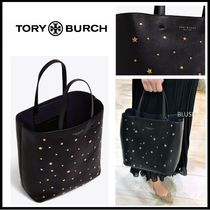 Tory Burch Studded Leather Totes