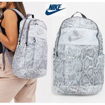 Nike Casual Style Other Animal Patterns Backpacks