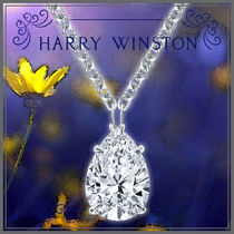 Harry Winston Costume Jewelry Casual Style Platinum Office Style