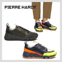 Pierre Hardy Leather Sneakers