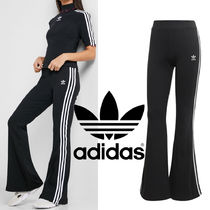 adidas Casual Style Street Style Plain Cotton Long Logo Pants