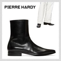 Pierre Hardy Plain Leather Boots