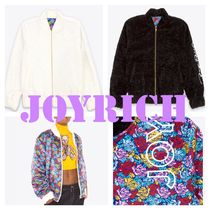 JOYRICH Short Flower Patterns Unisex Street Style Plain Handmade