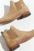 SHOE THE BEAR Plain Toe Mountain Boots Suede Street Style Plain