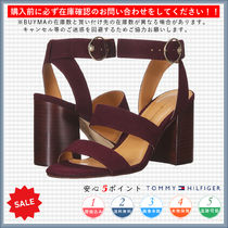 Tommy Hilfiger Open Toe Casual Style Heeled Sandals