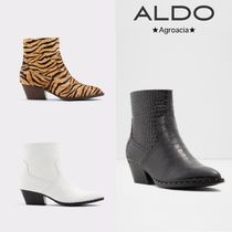ALDO Casual Style Faux Fur Studded Other Animal Patterns