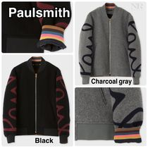 Paul Smith Street Style Plain MA-1 Bomber Jackets
