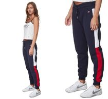 Tommy Hilfiger Casual Style Sweat Street Style Cotton Long Bottoms