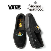 Vivienne Westwood Loafers Unisex Suede Street Style Collaboration